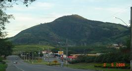 Foto de uma montanha de Vila Pavão